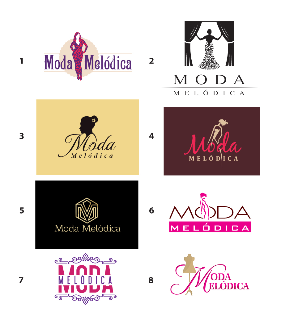The Gallery For Fashion Logo Design Samples