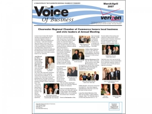 clearwater-chamber-newsletter-design