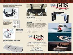 marine trifold brochure design