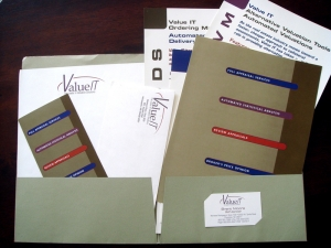 valueit-corporate-stationery-package-design