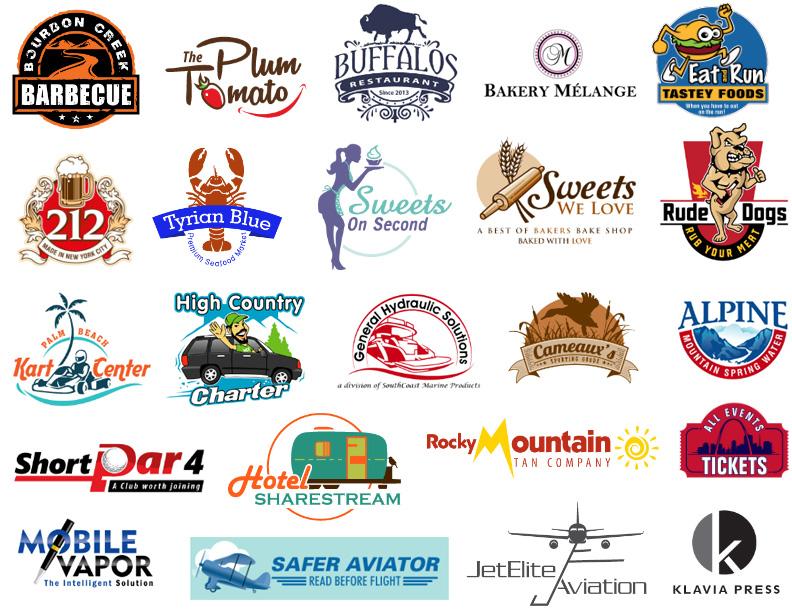 Samples of Hospitality Logo Design| MDesign Media