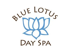 Blue Lotus Spa Logo Design