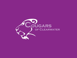 Cougars of Clearwater Logo Design