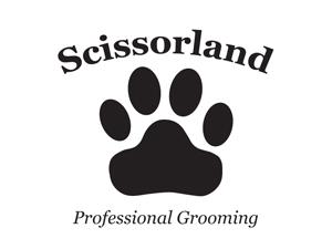 Scissorland Logo Design