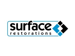surface restoration logo design