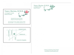 biz card and letterhead