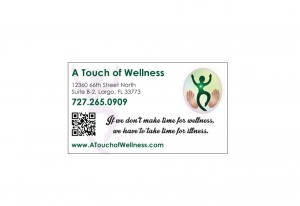wellness business card