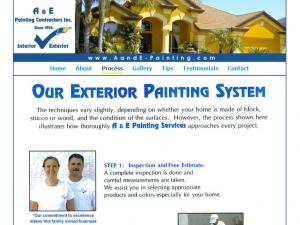 ae-painting-website-design
