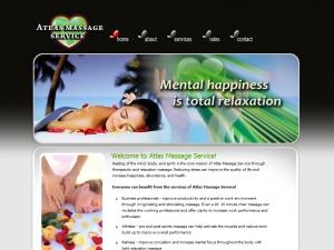 atlas-massage-service-website-design