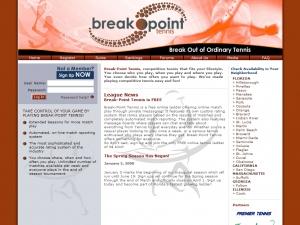 break-point-tennis-website-design