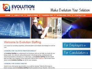 evolution-staffing-website-design