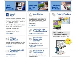 freedom-scientific-website-design