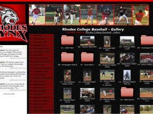 lynx-baseball-website-design
